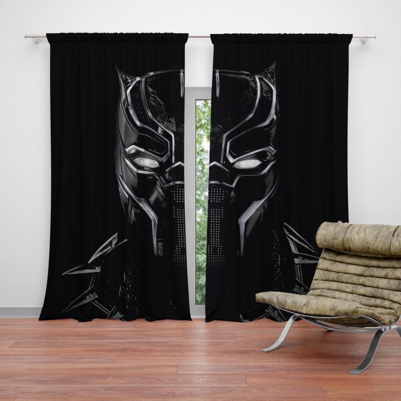 Black Panther Artwork Movie Curtain Ebeddingsets