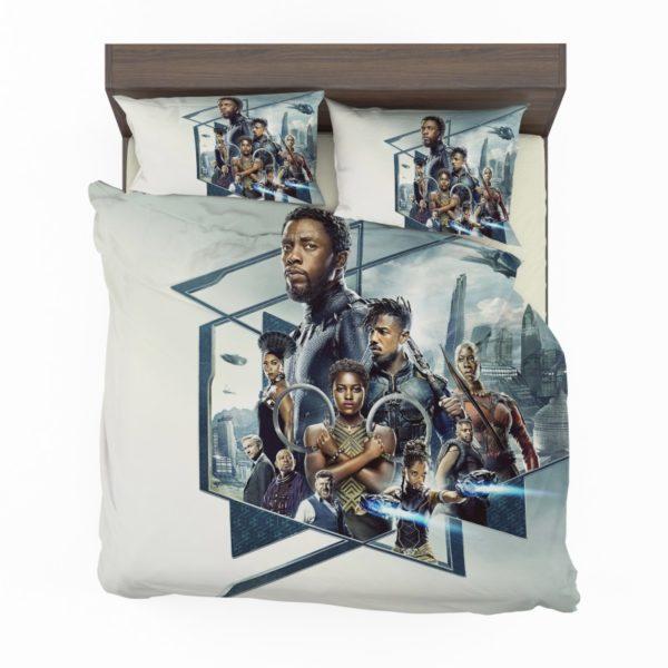 Black Panther Bedroom Bedding Set2