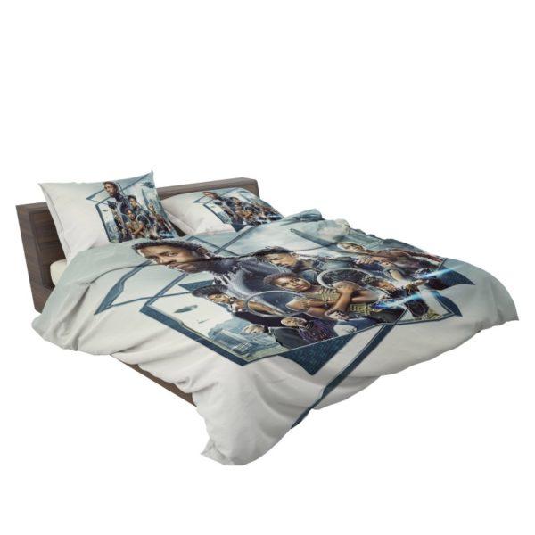 Black Panther Bedroom Bedding Set3
