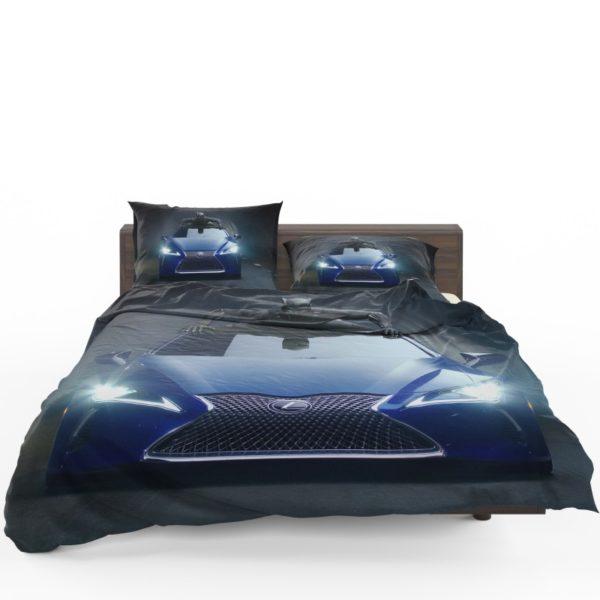 Black Panther Lexus LC Bedding Set
