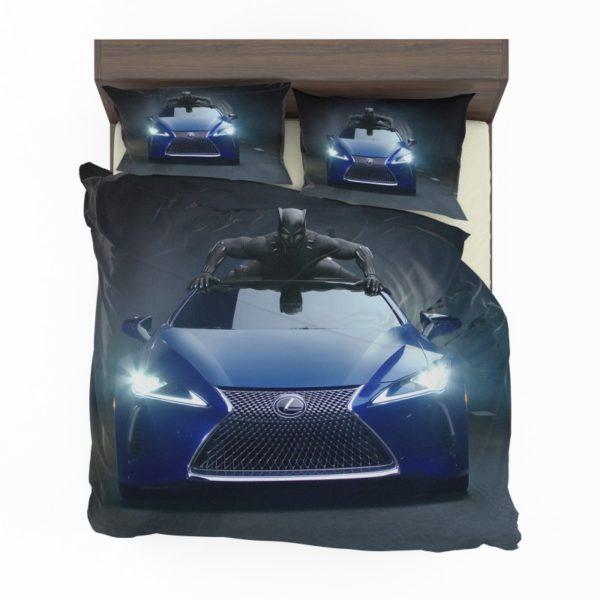Black Panther Lexus LC Bedding Set2