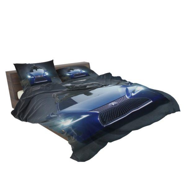 Black Panther Lexus LC Bedding Set3
