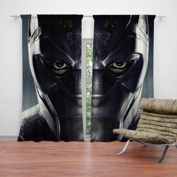 Black Panther Marvel Comics Curtain