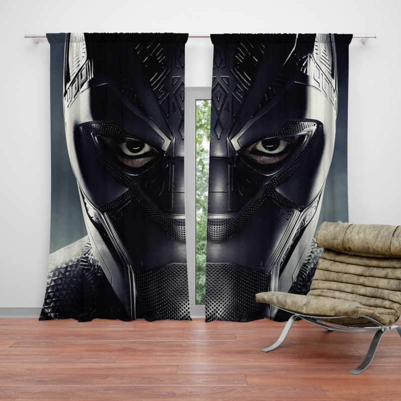 Black Panther Marvel Comics Curtain Ebeddingsets