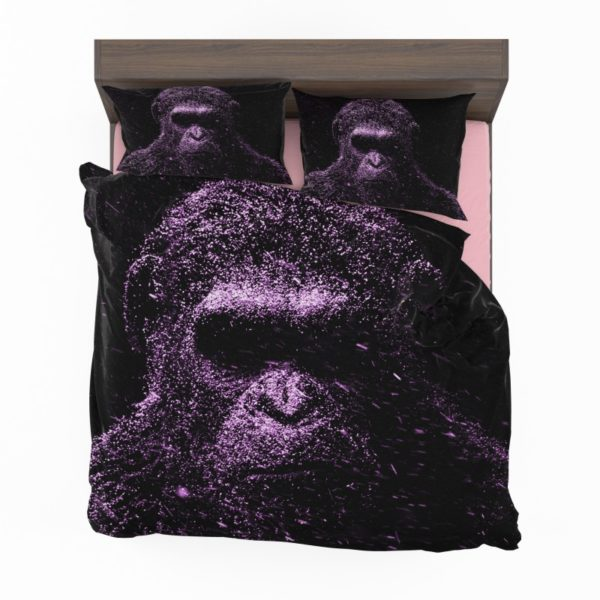 Caesar War For The Planet Of The Apes Bedding Set2