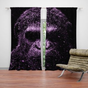 Caesar War For The Planet Of The Apes Curtain