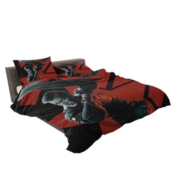 Captain America Chris Evans Marvel Comics Bedding Set3