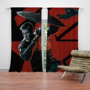 Captain America Chris Evans Marvel Comics Curtain