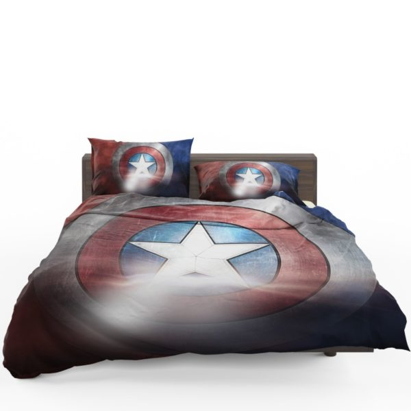 Captain America Shield American Marvel Bedding Set