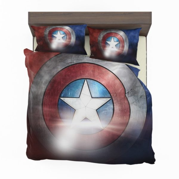 Captain America Shield American Marvel Bedding Set2
