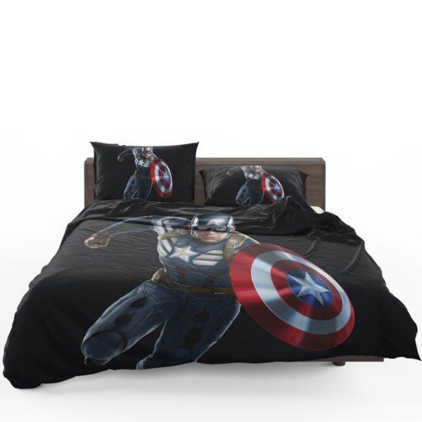 Captain America Superheroes Marvel Comics Bedding Set