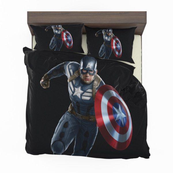 Captain America Superheroes Marvel Comics Bedding Set2