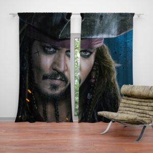 Captain Jack Sparrow Johnny Depp Curtain