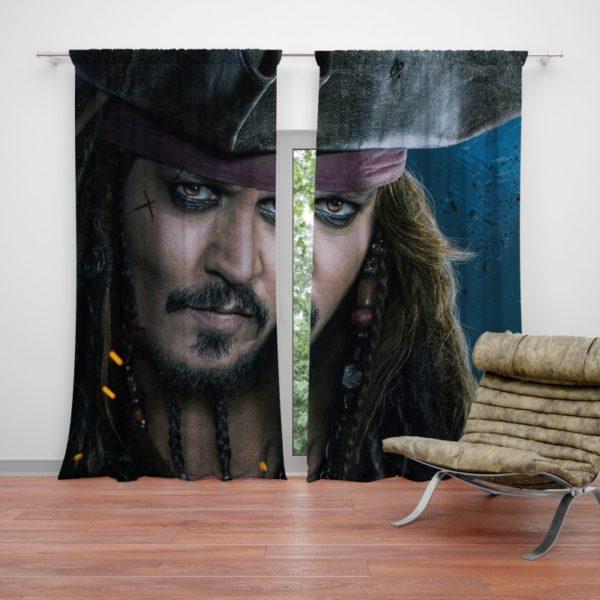 Captain Jack Sparrow Johnny Depp Curtain