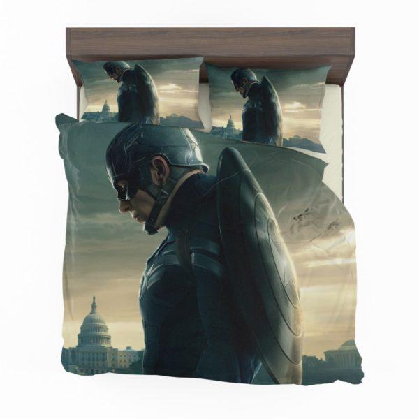 Chris Evans Captain America Comforter Set2