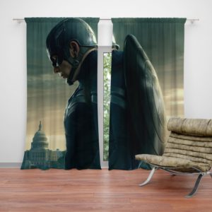 Chris Evans Captain America Curtain