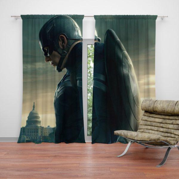 Chris Evans Captain America Curtain