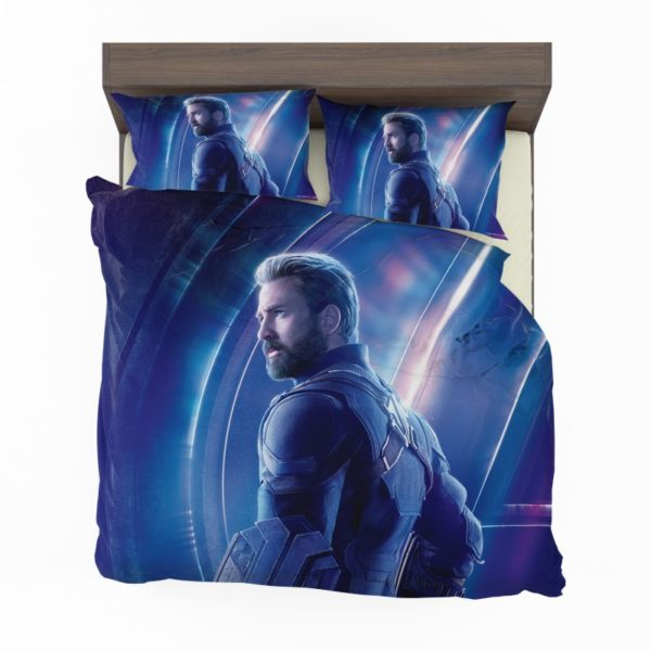 Chris Evans Steve Rogers Captain America Bedding Set2