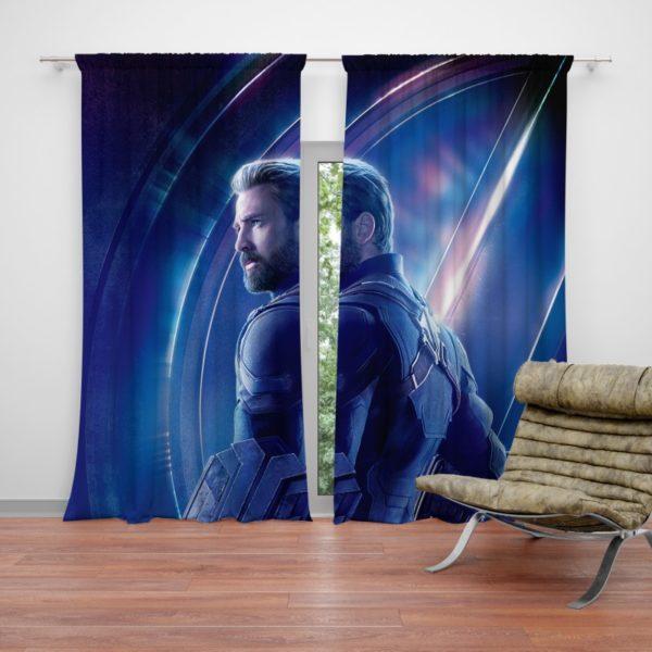 Chris Evans Steve Rogers Captain America Curtain
