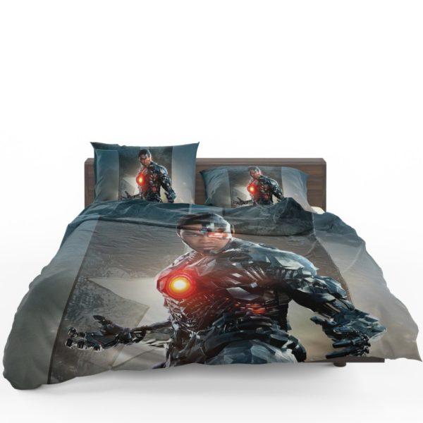 Cyborg Justice League Bedding Set