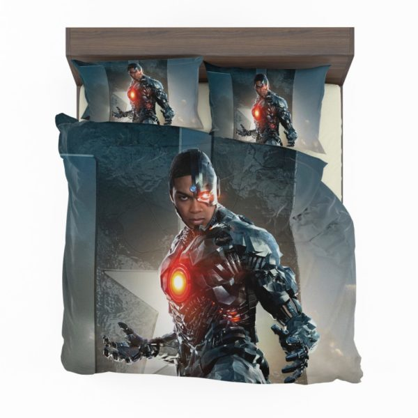 Cyborg Justice League Bedding Set2