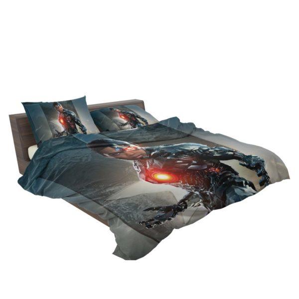 Cyborg Justice League Bedding Set3