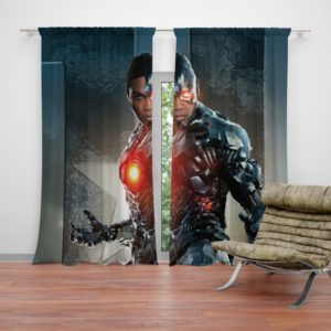 Cyborg Justice League Curtain
