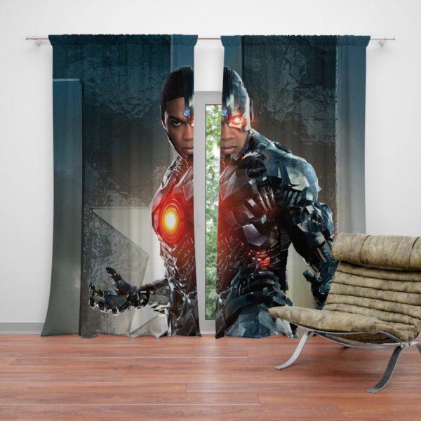 Cyborg Justice League Curtain