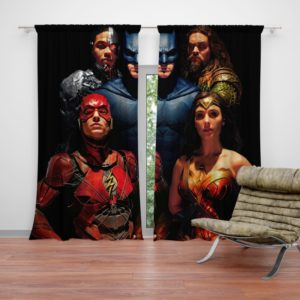 DC Comics Justice League Movie Curtain
