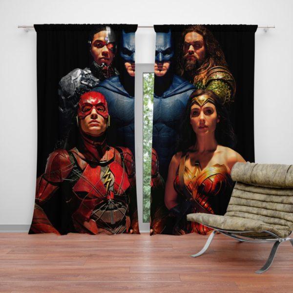 DC Comics Justice League Movie Curtain