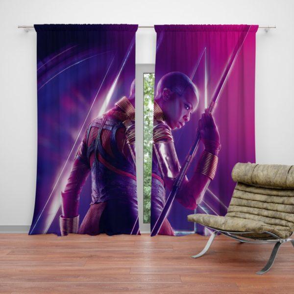 Danai Gurira Okoye Marvel Avenger Curtain