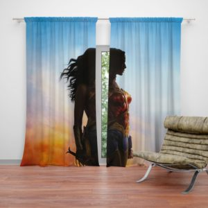 Dc Comics Wonder Woman Movie Curtain