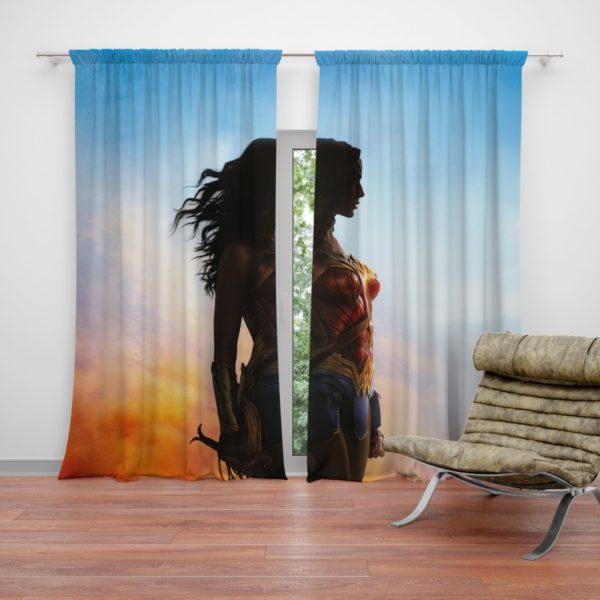 Dc Comics Wonder Woman Movie Curtain
