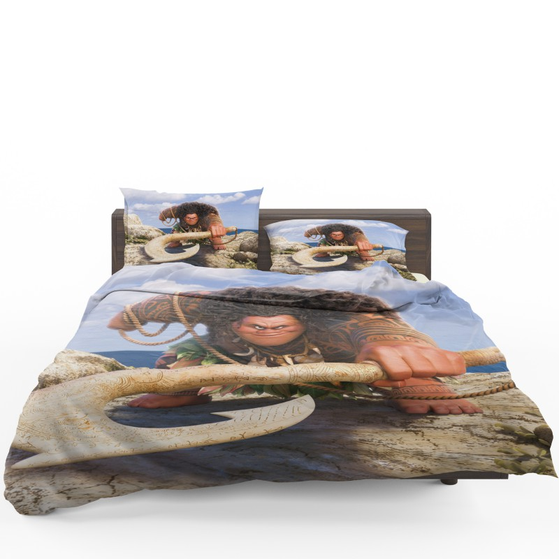 Demigod Maui Moana Disney Movie Bedding Set Ebeddingsets