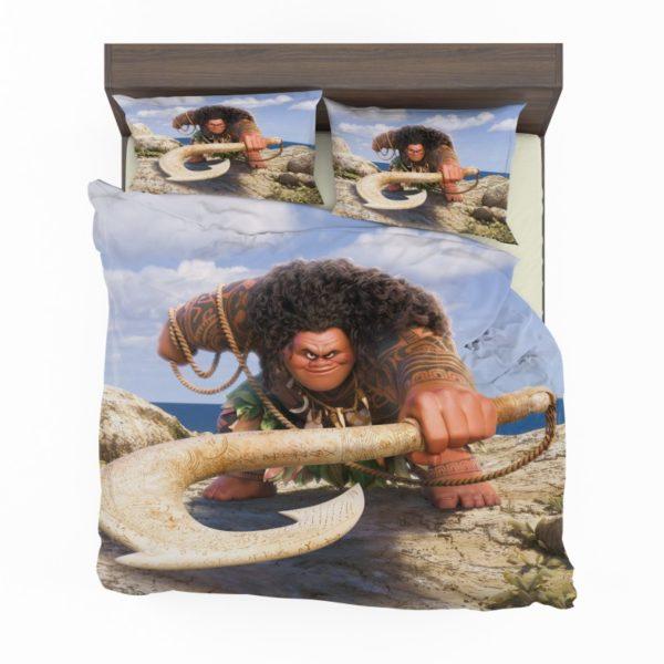 Demigod Maui Moana Disney Movie Bedding Set2 1