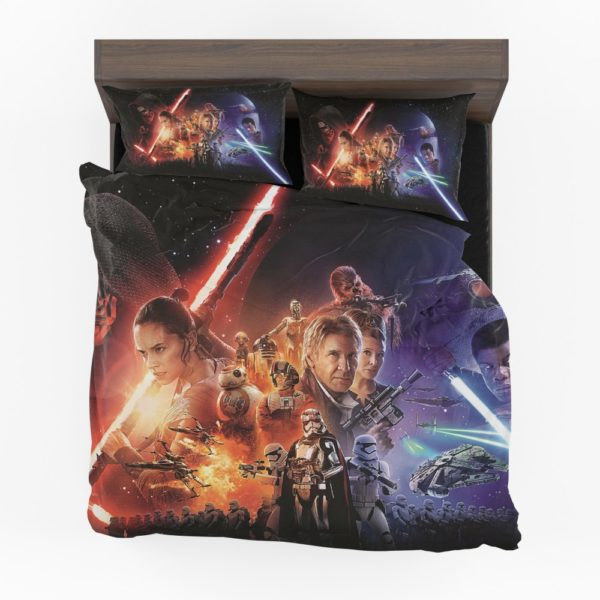 Disney Star Wars Force Fighting Futuristic Series Bedding Set