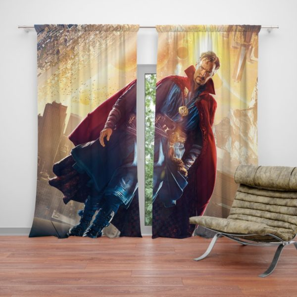 Doctor Stephen Strange Avengers Curtain