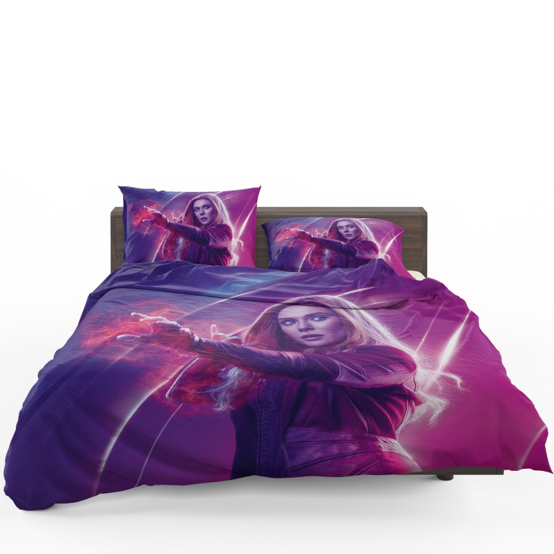 Elizabeth Olsen Wanda Maximoff Avengers Bedding Set