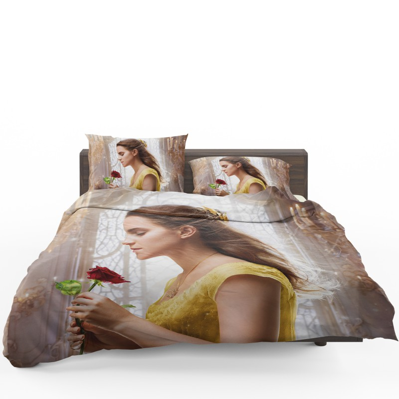 Emma Watson Beauty And The Beast Belle Bedding Set