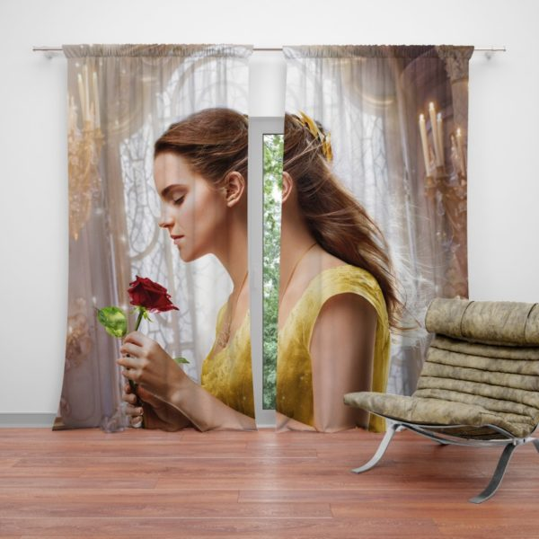 Emma Watson Beauty and the Beast Belle Curtain