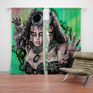 Enchantress Suicide Squad June Moone Curtain