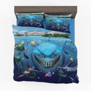 Finding Nemo Disney Movie Themed Bedding Set