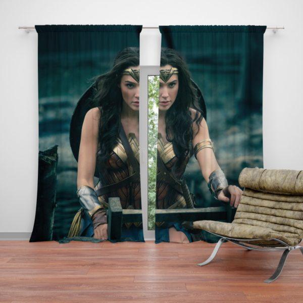 Gal Gadot Wonder Woman Curtain