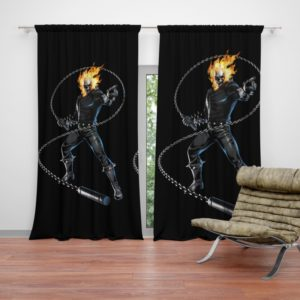 Ghost Rider Comics Curtain