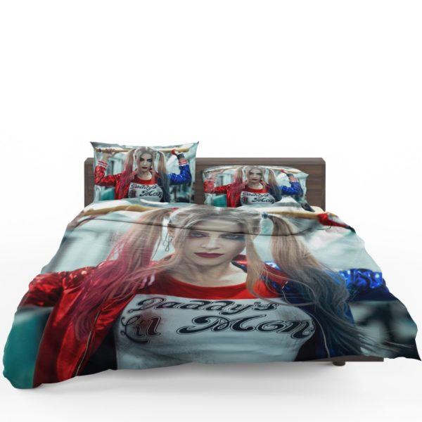 Harley Quinn Cosplay Suicide Squad Bedding Set