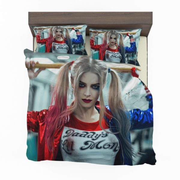 Harley Quinn Cosplay Suicide Squad Bedding Set2 2
