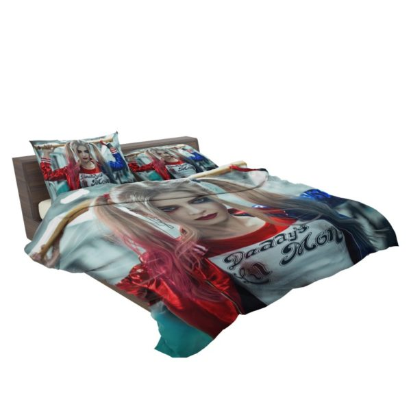 Harley Quinn Cosplay Suicide Squad Bedding Set3 2