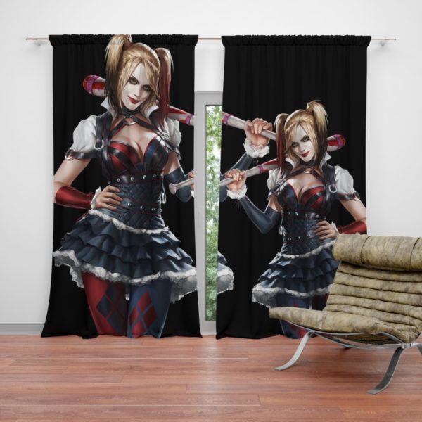 Harley Quinn Supervillain Suicide Squad Curtain