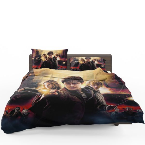 Harry Potter And The Deathly Hallows Bedding Set