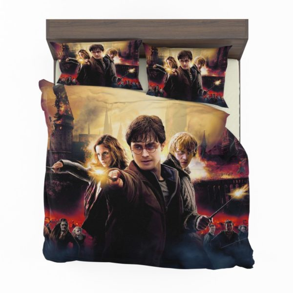 Harry Potter And The Deathly Hallows Bedding Set2